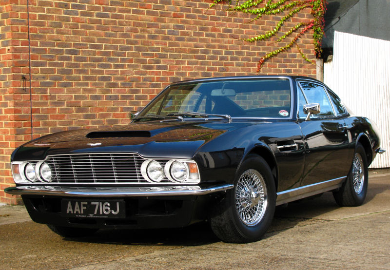 Building The Ultimate DBS RS Williams Ltd Aston Martin Heritage - Aston martin restoration project for sale