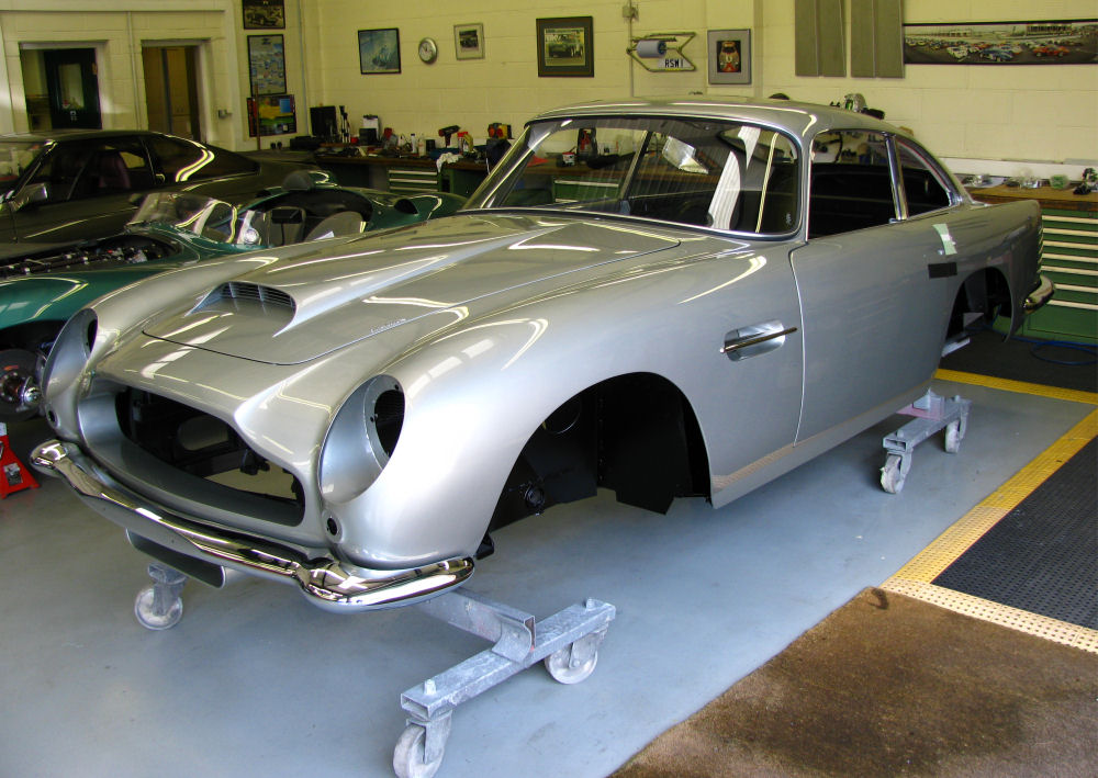 News Page RS Williams Ltd Aston Martin Heritage Specialist - Aston martin restoration project for sale