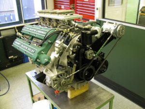 The car's engine upgraded to RSW 7 litre specification