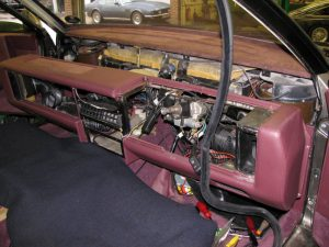Removing the dash